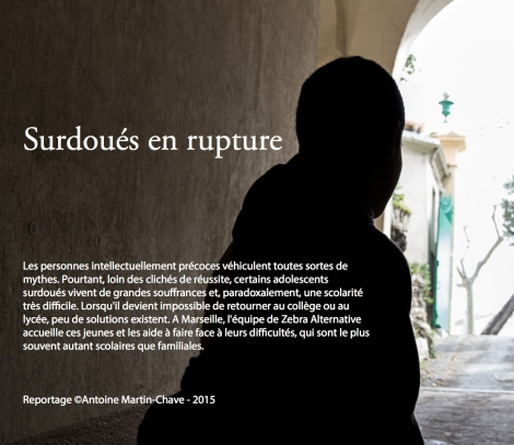 reportage photo surdoues en rupture